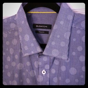 Crisp Bugatchi dress shirt